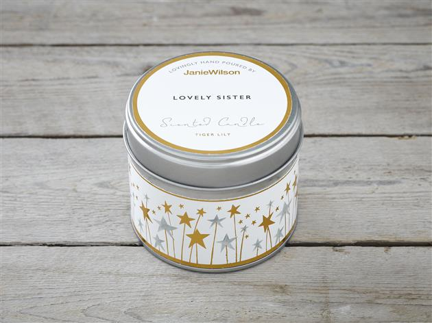 Lovely Sister-Tiger Lily Candle
