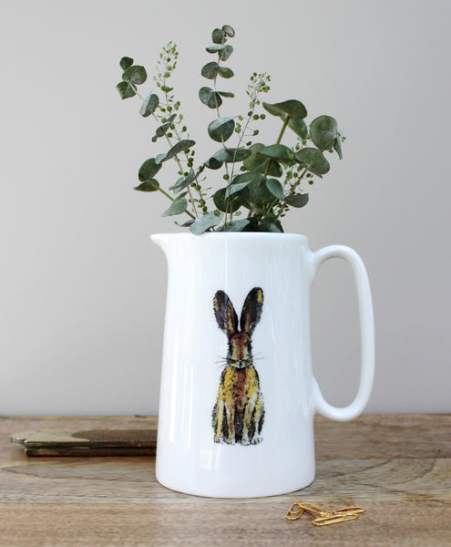 Toasted Crumpet - Hare Jug Fine Bone China
