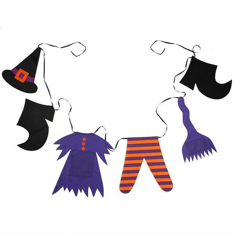 Witch Washing Line Decor