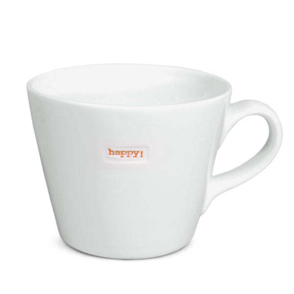 Standard Bucket Mug - Happy