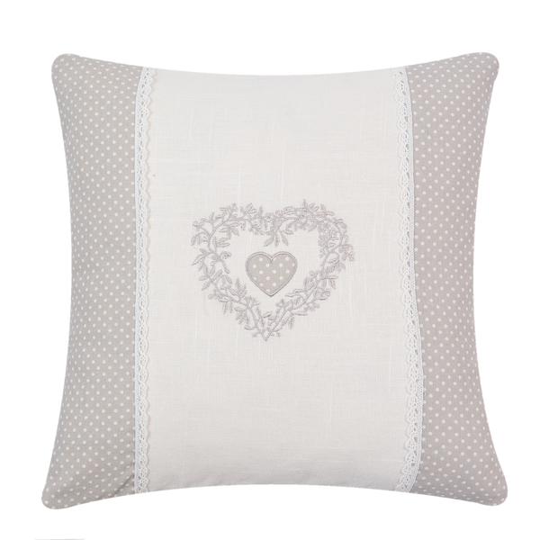 40x40cm Shabby Chic Cushion Cover