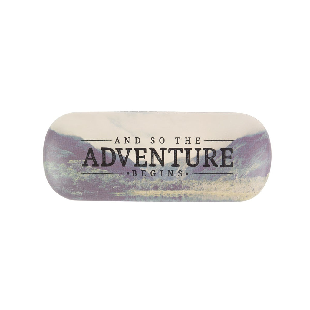Wanderlust Adventure Glasses Case