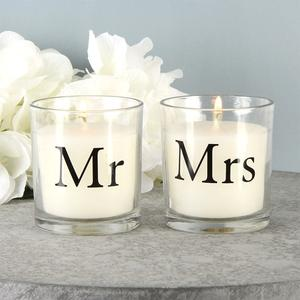 Amore Mr & Mrs Candles