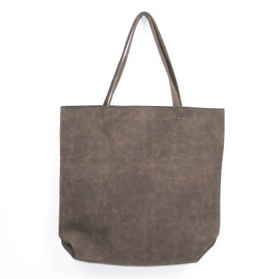 Marbella Dark Brown Tote Handbag