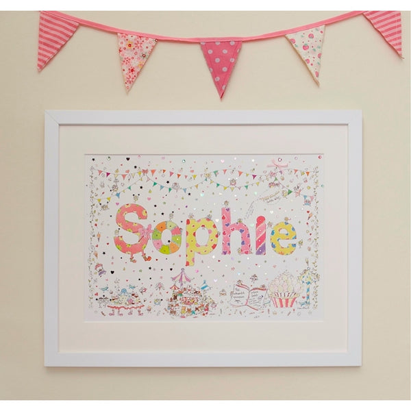 Name Illustrations - Girls - With Personalisation Option