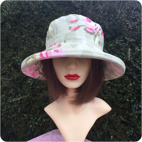 Nancy Hat - Grey Peak & Brim