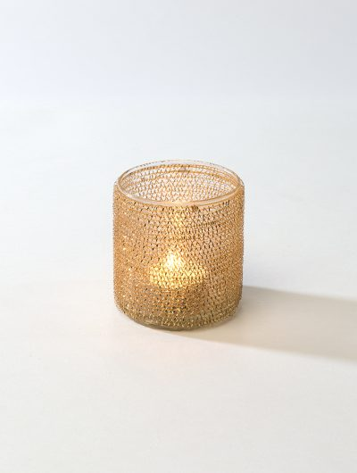 Gold Ring Tea Light Holder