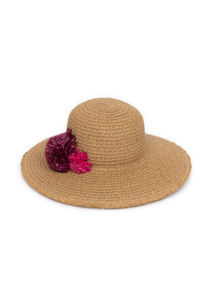 Selma Natural Summer Hat