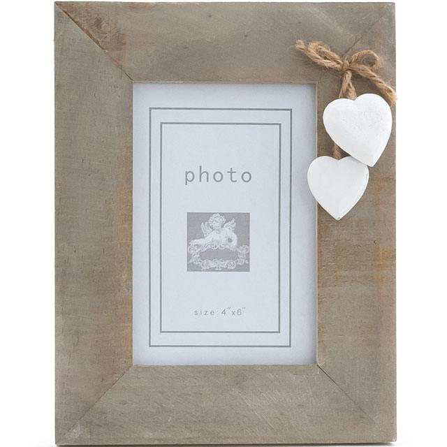 Single White Heart Frame – Bumbles Online | Gifts and Homewares, Surrey