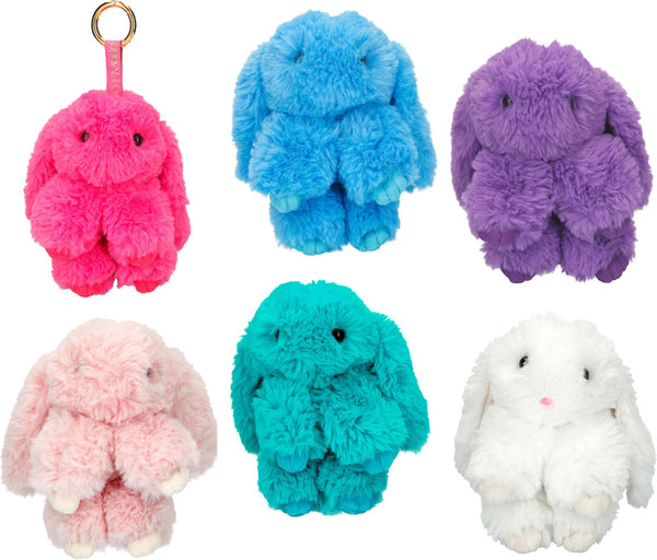Top Model Bunny Plush Pendant