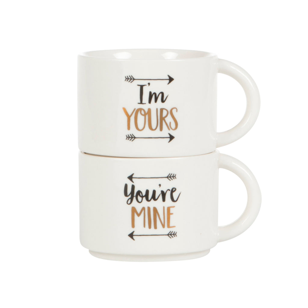 Stacking Mugs - Your Mine Im Yours