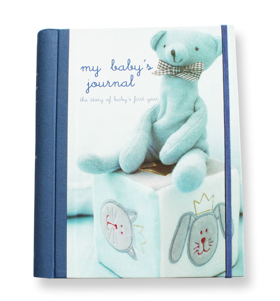 My Baby's Journal - Blue