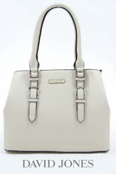 David Jones Buckle Bag - White