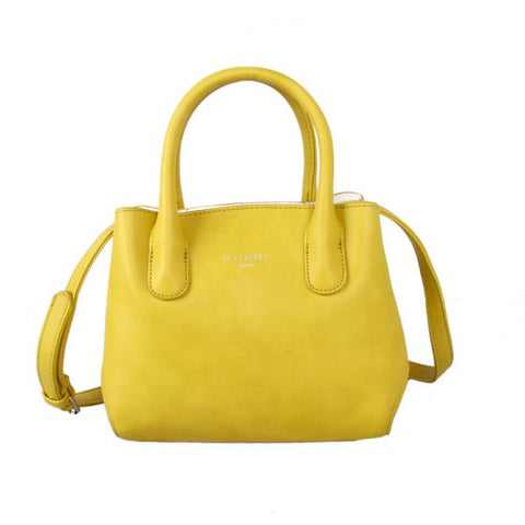 Red Cuckoo Mini Grab Tote -  Yellow Gold