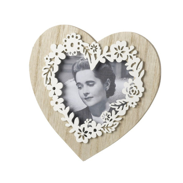 Wooden Heart Frame
