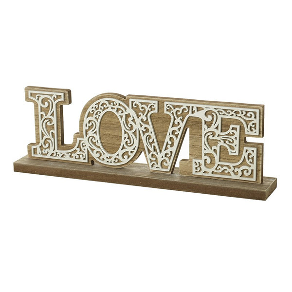 Wooden Love Deco