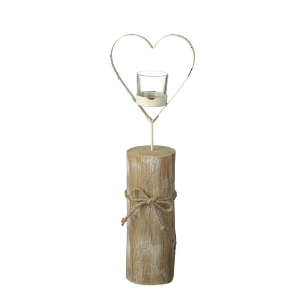 Heart T Light Holder