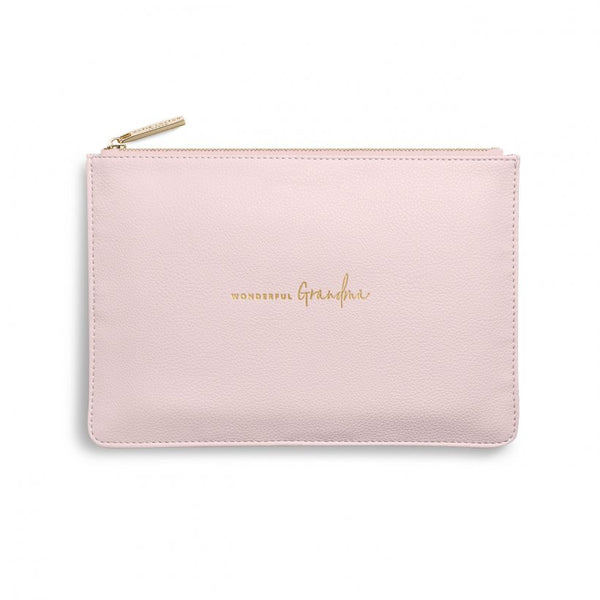 PERFECT POUCH | WONDERFUL GRANDMA | BLUSH PINK
