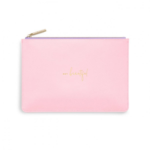 COLOUR POP PERFECT POUCH | HEY BEAUTIFUL | PINK AND LILAC
