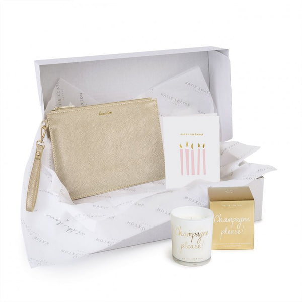 HAPPY BIRTHDAY CHAMPAGNE KINDNESS BOX