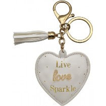 Oh So Charming Keyring - SPARKLE