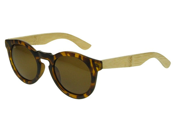 Tortoiseshell and bamboo sunglasses