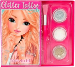 Top Model Glitter Tattoo Set