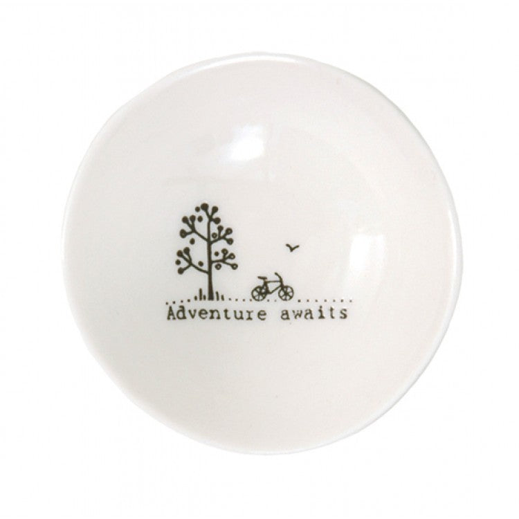 Small Wobbly Bowl - Adventure Awaits