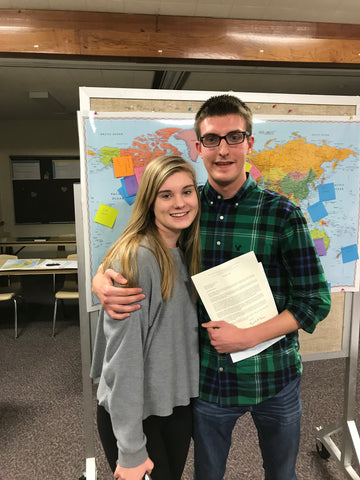 Elder Norwood and Julie - mission call