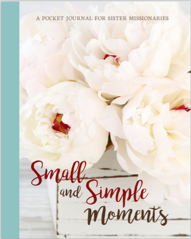 Sister Missionary Pocket Journal--Peonies