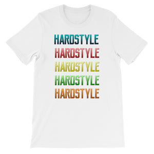 Hardstyle T-shirt Men  White by Raverabbit