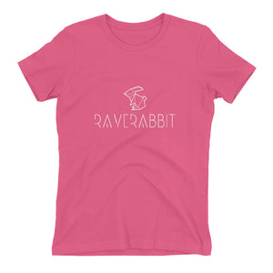 Raverabbit T-shirt women pink by Raverabbit