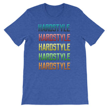Hardstyle T-shirt Men  Blue by Raverabbit
