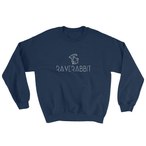 Raverabbit Sweatshirt Men Women Navy by Raverabbit