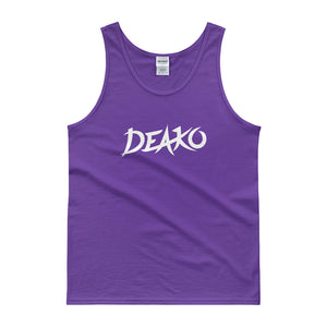 Deako Tank Top Men Women Purple by Raverabbit Shop