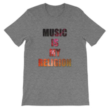 Music Is My Religion T-Shirt Men deep heather by Raverabbit