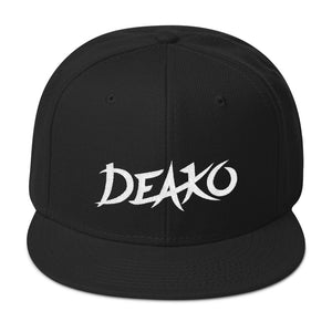 Deako Cap Black by Raverabbit Shop