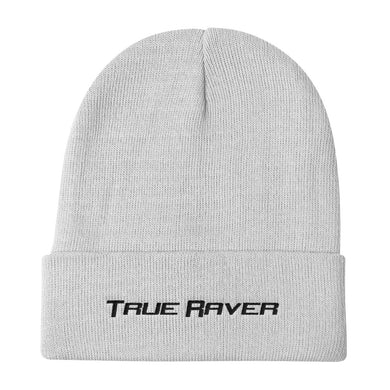 True Raver Beanie Men Women White by Raverabbit
