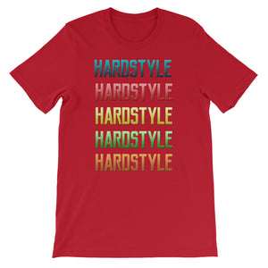 Hardstyle T-shirt Men  Red by Raverabbit