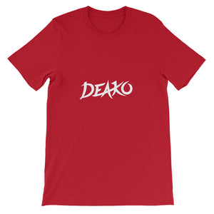 Deako T-Shirt Men Red by Raverabbit Shop