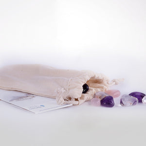 Gemstone mix for Universe and Beauty Carafes - Amethyst Quartz - Nature's Design
