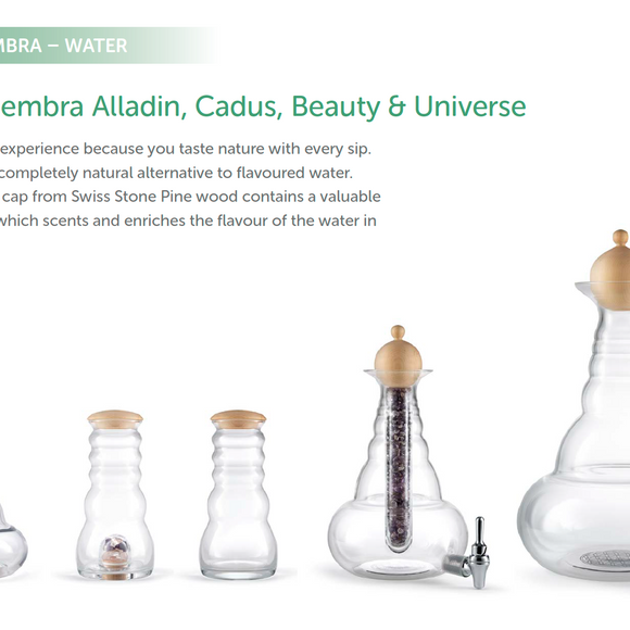 Pinus Cembra Lids for Carafes