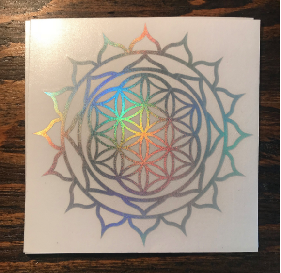 Sun Flower of Life - holographic