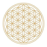 Gold Flower of Life - Nature's Design - Golden Ratio Products - Fractal Effects