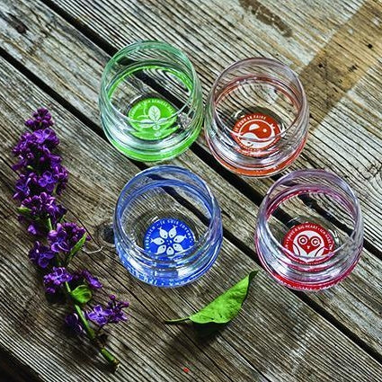 Mythos Flora and Fauna - Set of Four Glasses