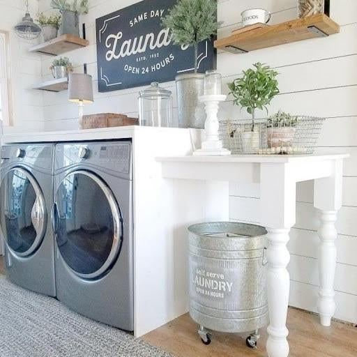 Laundry Décor