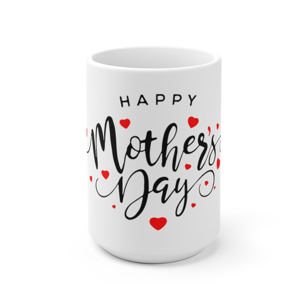 Mother's day scales contemporary ceramic mug