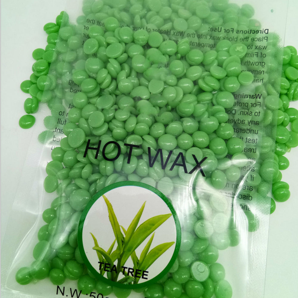 Painless Hair Removal Hard Wax Beans No Strips Full Body Depilatory Wax 50g