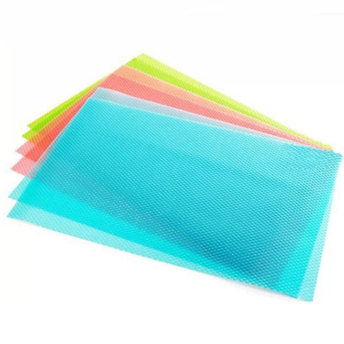 4 Pcs Anti-bacterial Anti-fouling Cushion Freezer Pad Kitchen Refrigerator Mat