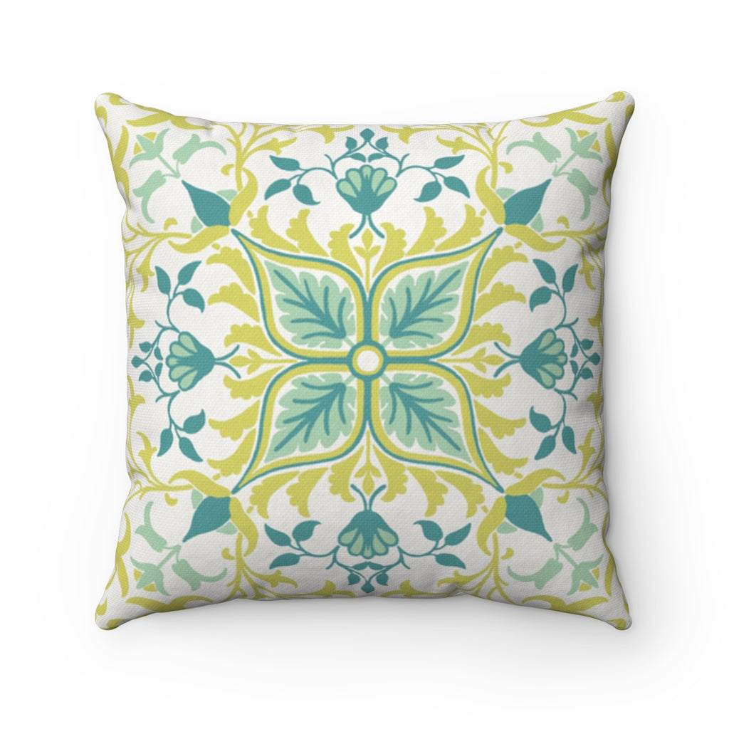 Vintage Floral abstract decorative cushion cover